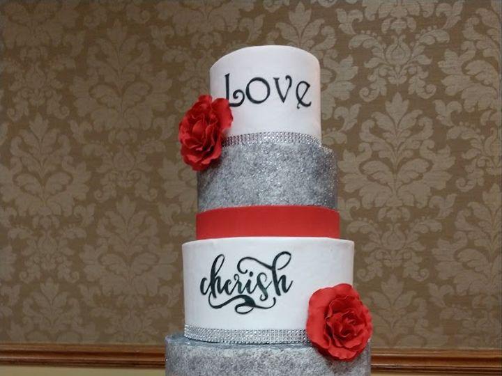 Tmx Love Cherish Family Silver Anniversary Cake Vintagebakery Com 803 386 8806 51 45999 159430729027205 Blythewood, SC wedding cake