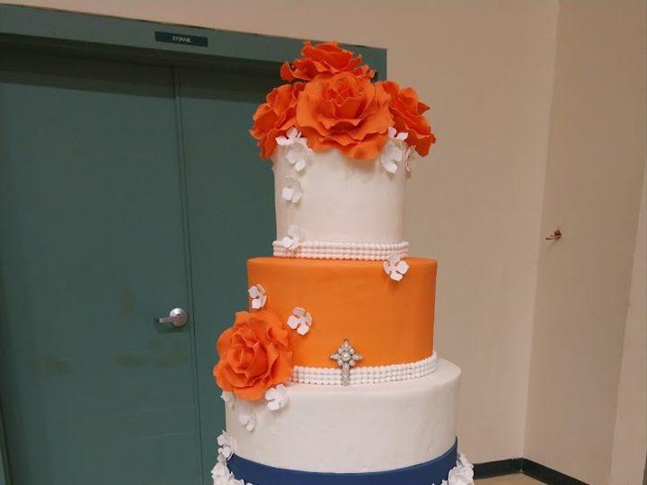 Tmx Navy And Coral 01 51 45999 159430858294425 Blythewood, SC wedding cake