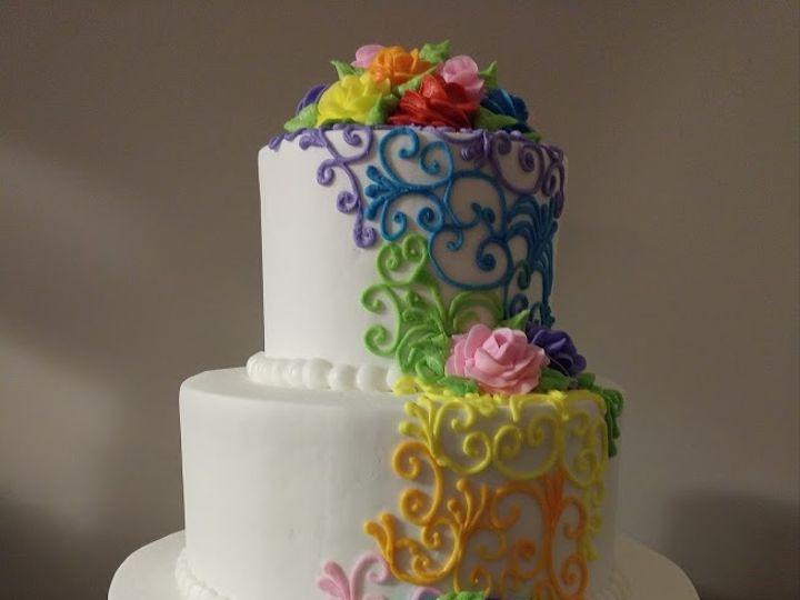 Tmx Rainbow 51 45999 159430871828200 Blythewood, SC wedding cake