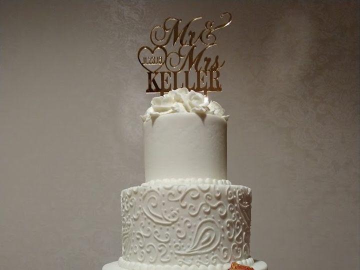 Tmx Red And Gold Monogram Paisley Lace Wedding Cake Vintagebakery Com 803 386 8806 51 45999 159430733118032 Blythewood, SC wedding cake