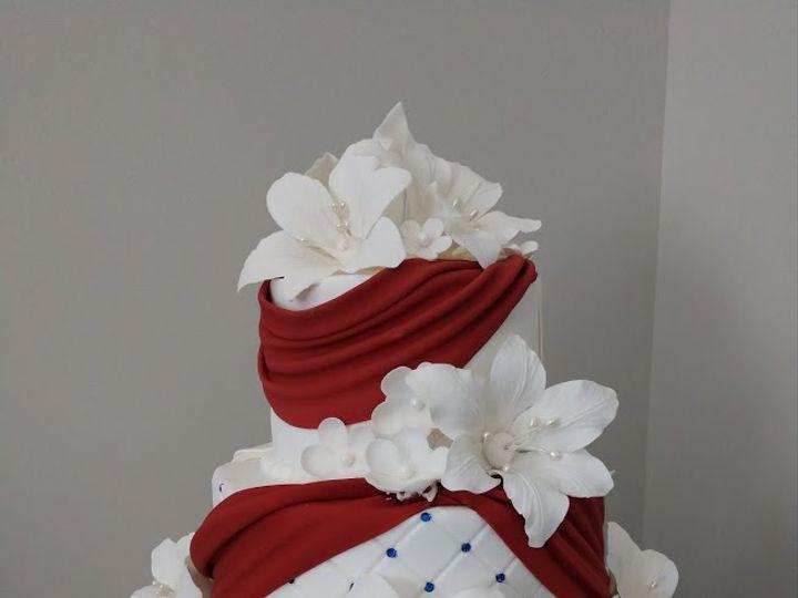Tmx Red Blue Wedcake 2 51 45999 159430737868628 Blythewood, SC wedding cake