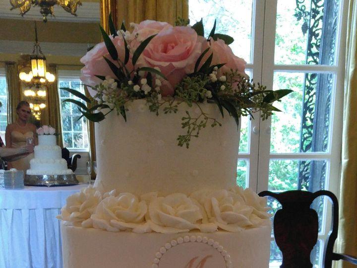 Tmx Romantic Roses And Monogram Buttercream Wedding Cake Vintagebakery Com 803 386 8806 Extras 2 51 45999 159430764646629 Blythewood, SC wedding cake
