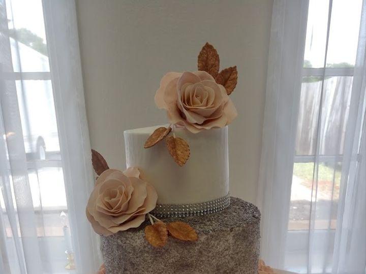 Tmx Rose Gold And Silver Wedding Cake Vintagebakery Com 803 386 8806 51 45999 159430879851062 Blythewood, SC wedding cake