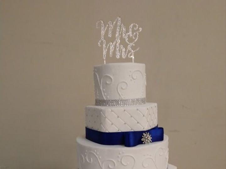 Tmx Royal Blue Crystal Wedding Cake 2 Vintagebakery Com 803 386 8806 51 45999 159430744655747 Blythewood, SC wedding cake
