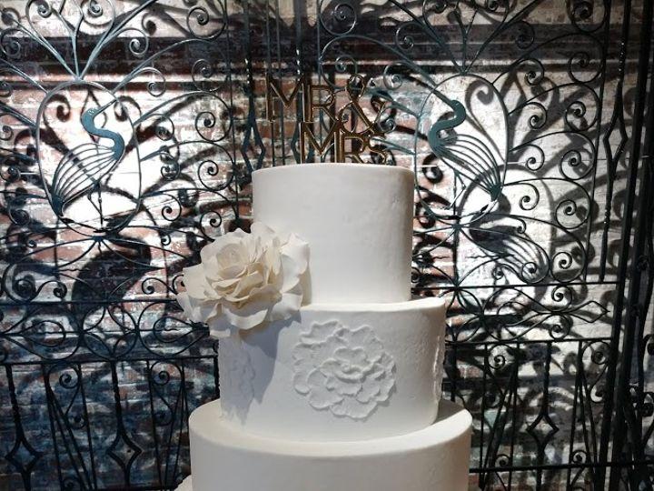 Tmx White Wedding Cake With Ruffles And Rose Vintagebakery Com 803 386 8806 51 45999 159430779558795 Blythewood, SC wedding cake