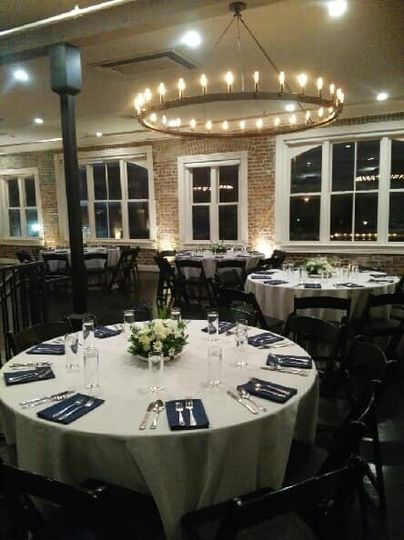 Seated dinner downtown venue