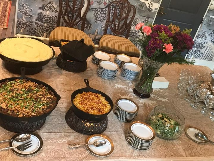 Private event buffet
