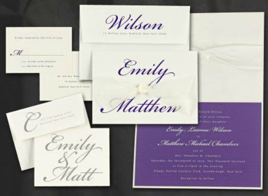 This fabulous ensemble is from Lallie. The  Lallie invitation always makes a statement!
