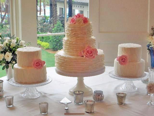 Metro Custom Cakes Wedding Cake Jacksonville Fl Weddingwire
