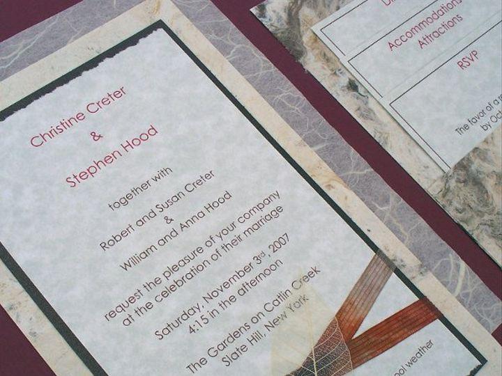 Tmx 1233945538734 Invite1 Oakville wedding invitation
