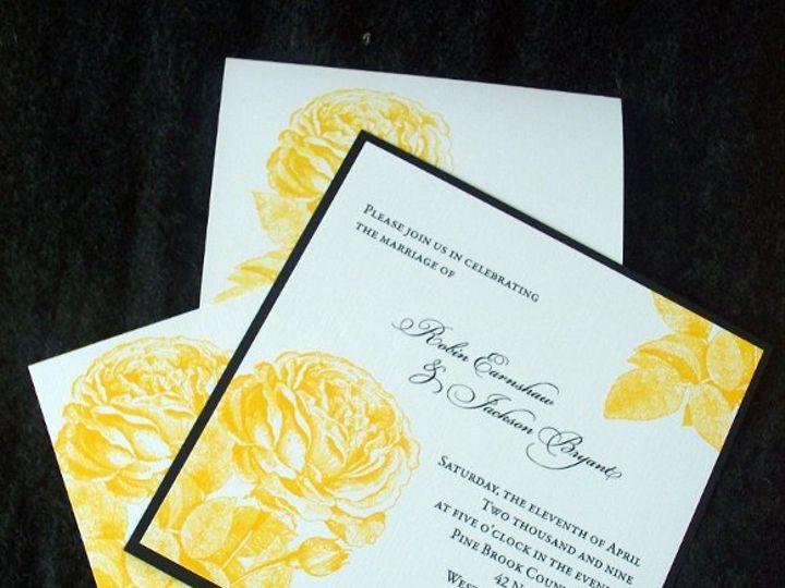 Tmx 1233945588265 Squarerose1 Oakville wedding invitation