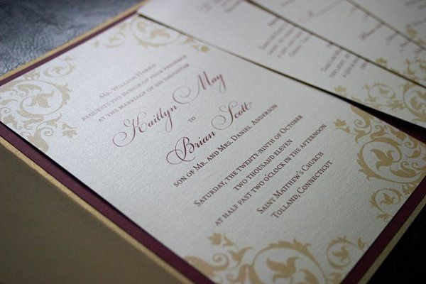 Tmx 1321109852468 23 Oakville wedding invitation