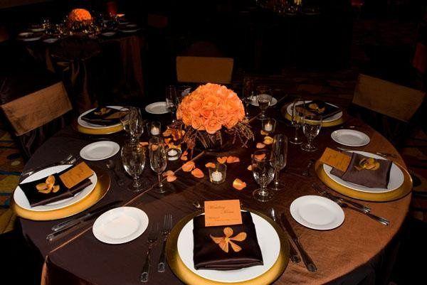 Wedding Table Setup - one of many