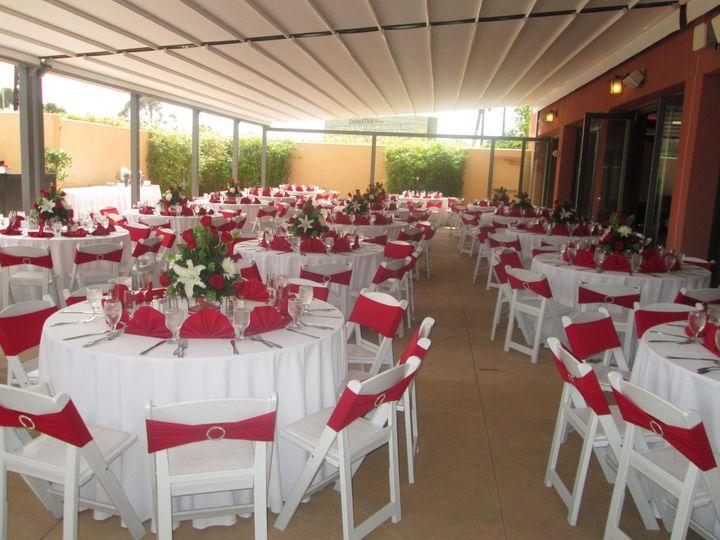 Tmx 1372443293102 Patio White And Red Culver City, CA wedding venue
