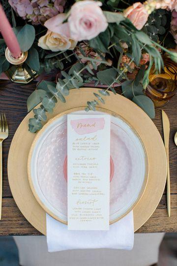 Table setting detail
