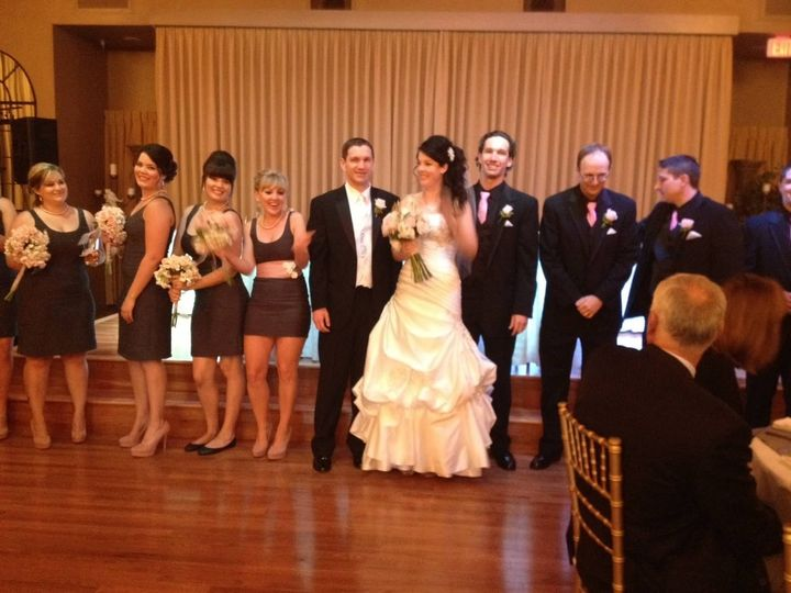 Congratulations to our bride and groom!