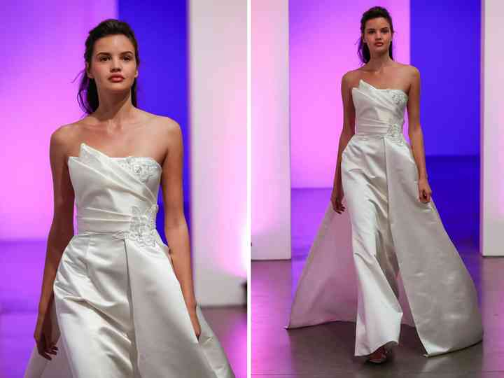12 Asymmetrical Wedding Dresses For The Fashion Obsessed