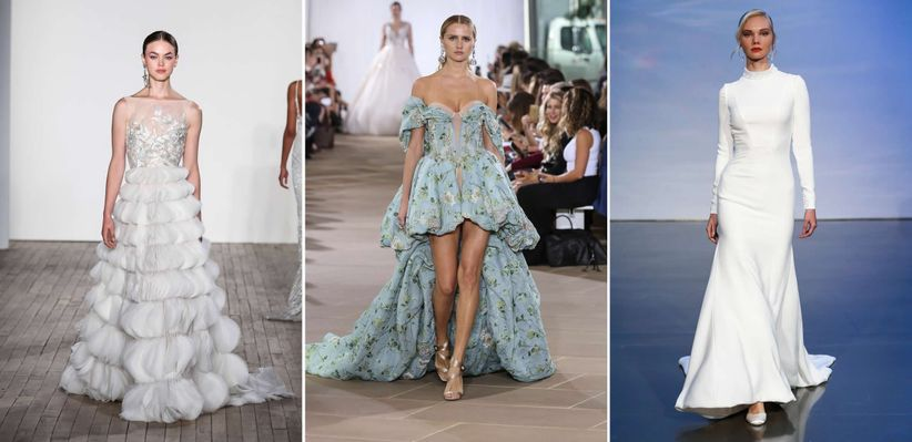2019 Wedding Dress Trends To Inspire Your Bridal Fashion