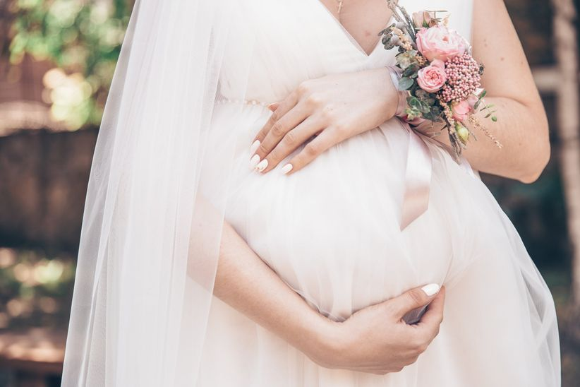 The Maternity Wedding Dress Guide Every Pregnant Bride Needs
