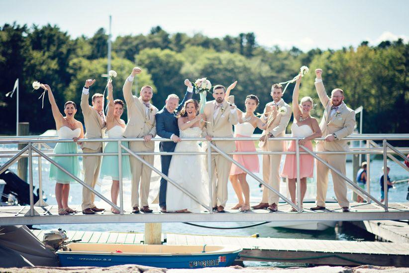 kennebunkport wedding party