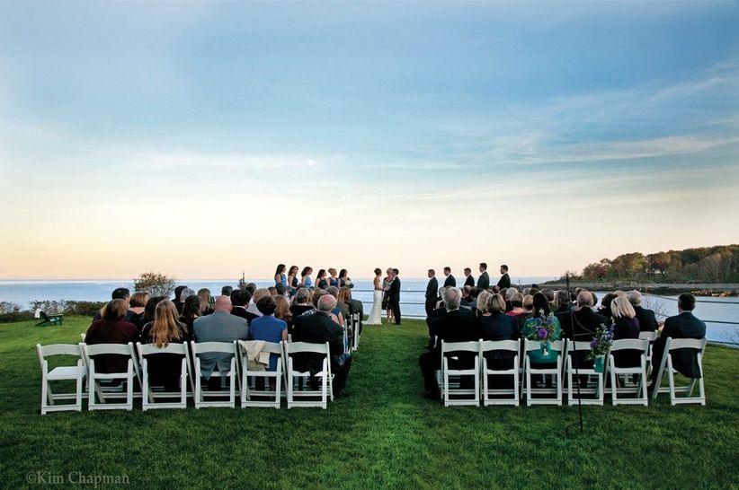 stage neck inn maine wedding