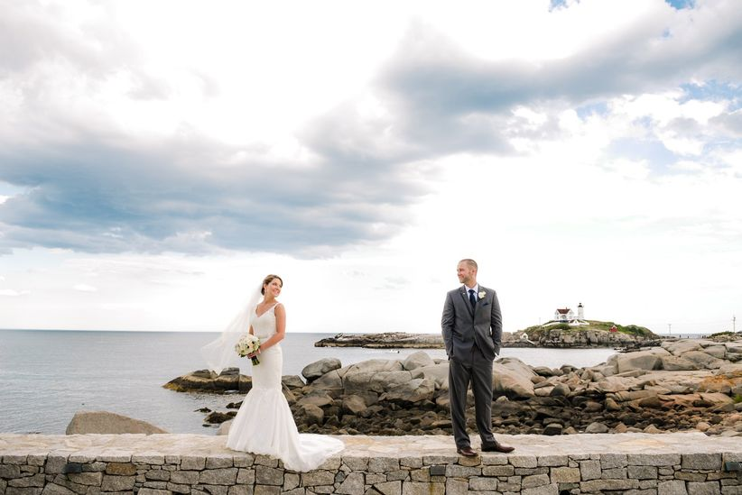 wedding couple maine