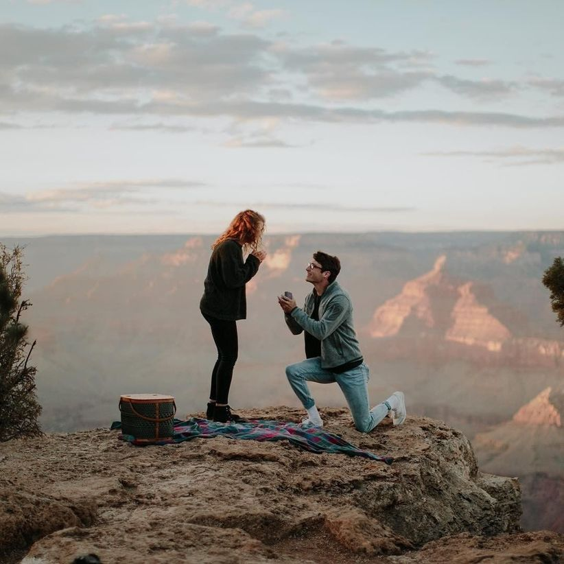 proposal at grand canyon
