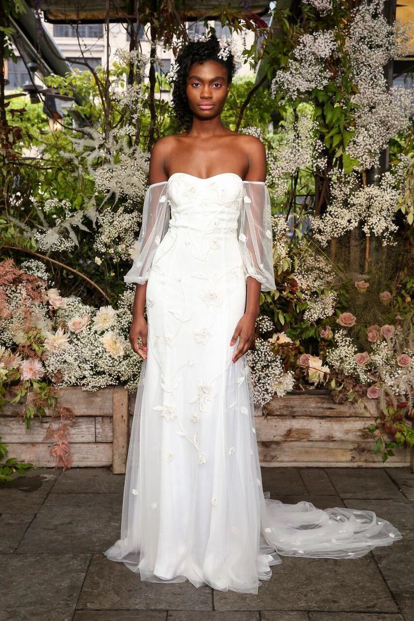 07d82a48f09 15 Boho Wedding Dresses That Will Leave You Wonderstruck - WeddingWire