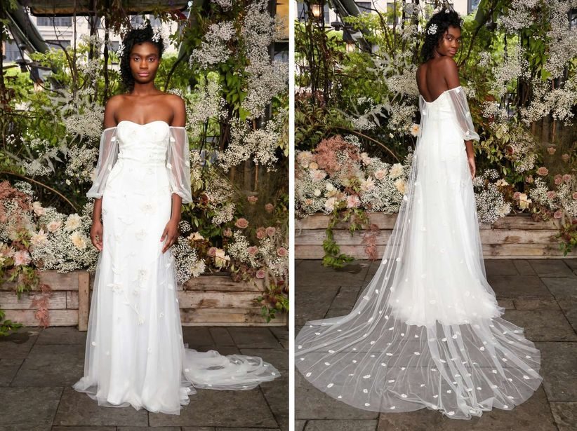 15 Boho Wedding Dresses That Will Leave You Wonderstruck Weddingwire