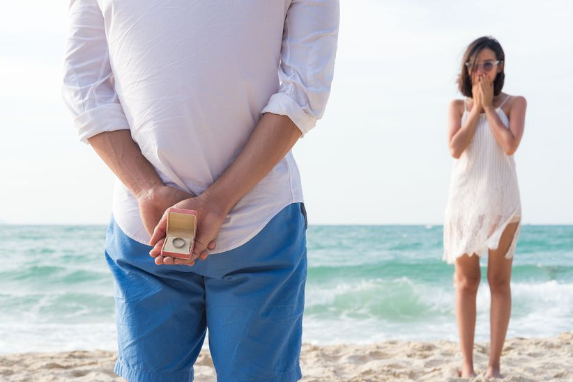 12 beach proposal ideas for the ultimate romantic moment weddingwire