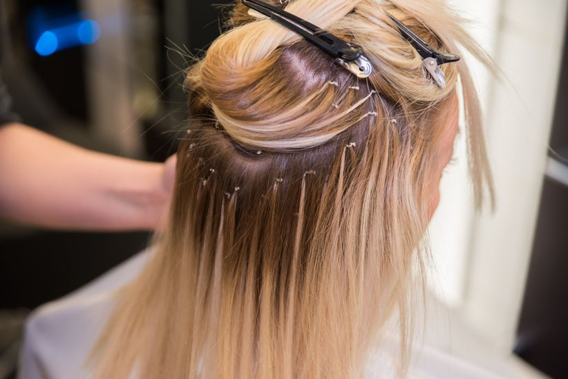 Heres Why You Should Consider Wedding Hair Extensions Weddingwire