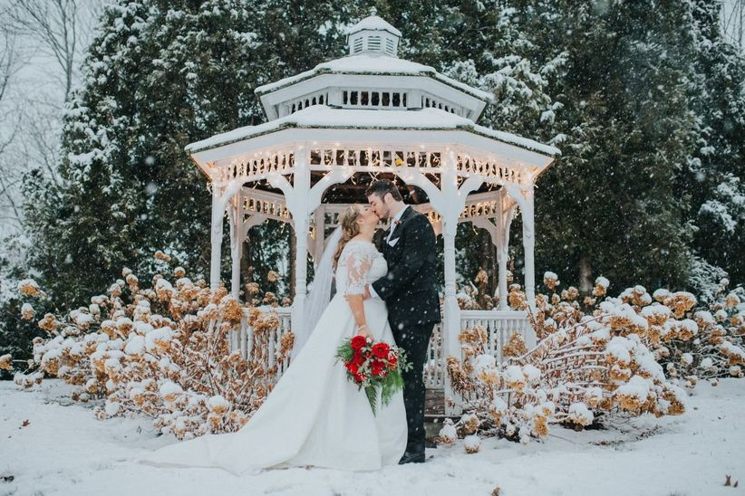 maine wedding winter