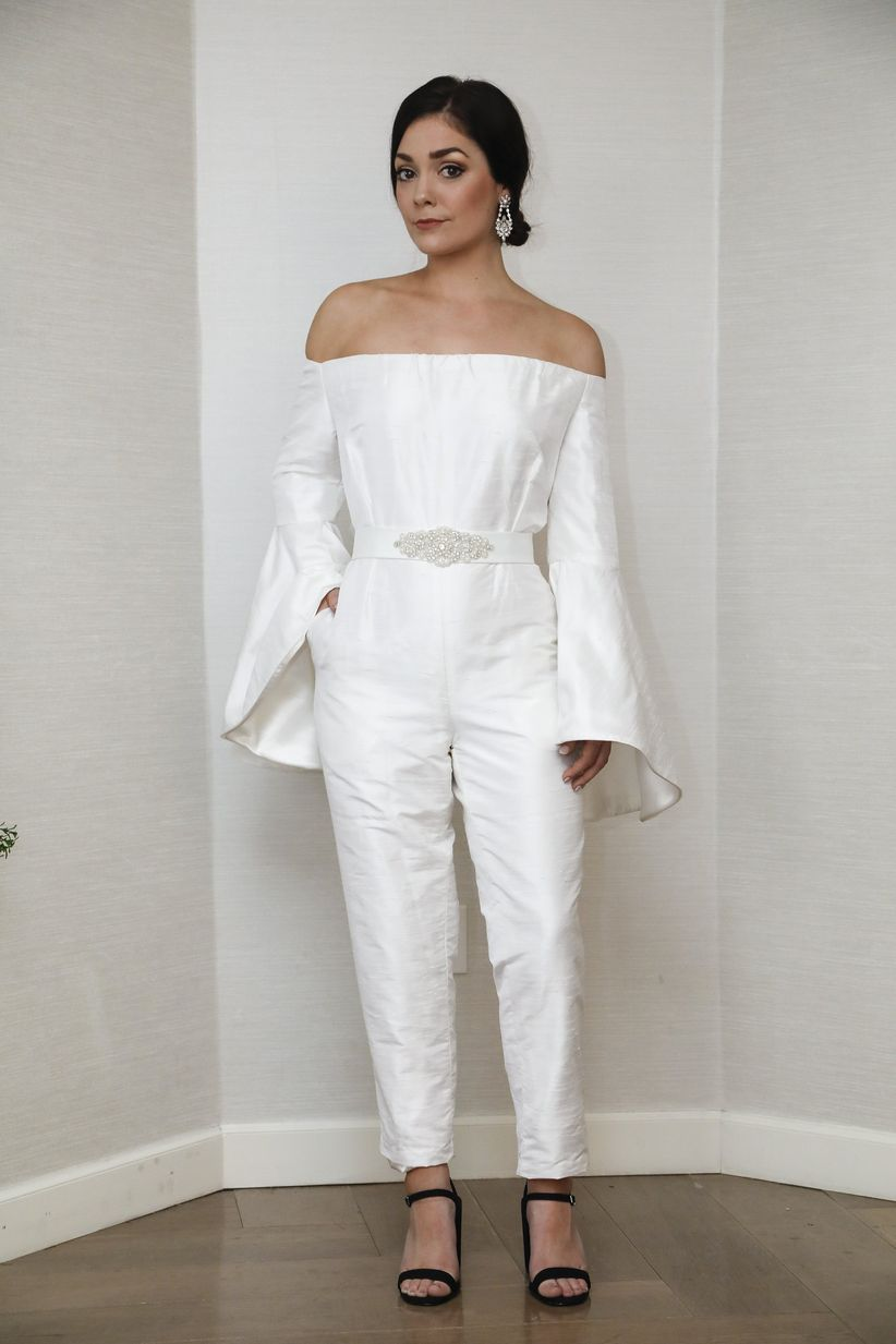 ccaa2ac877 8 Bridal Jumpsuits for Your Wedding