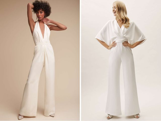 8 Bridal Jumpsuits for Your Wedding, Rehearsal Dinner & More
