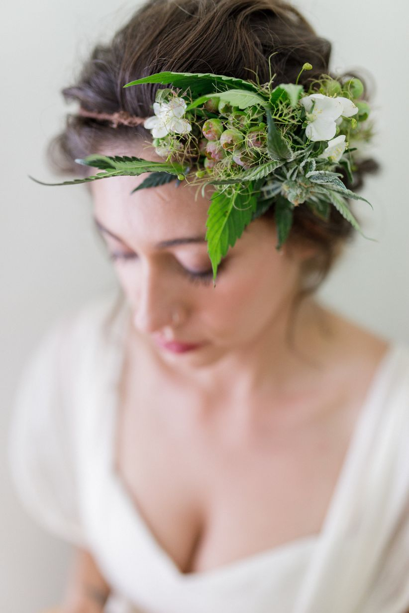weed headpiece