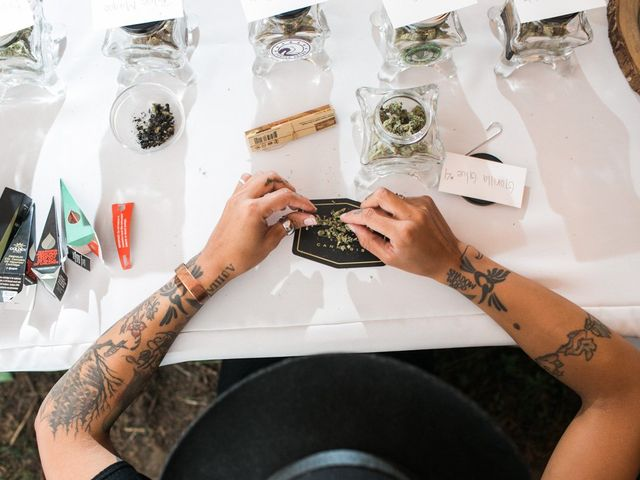 How to Serve Weed at Your Wedding