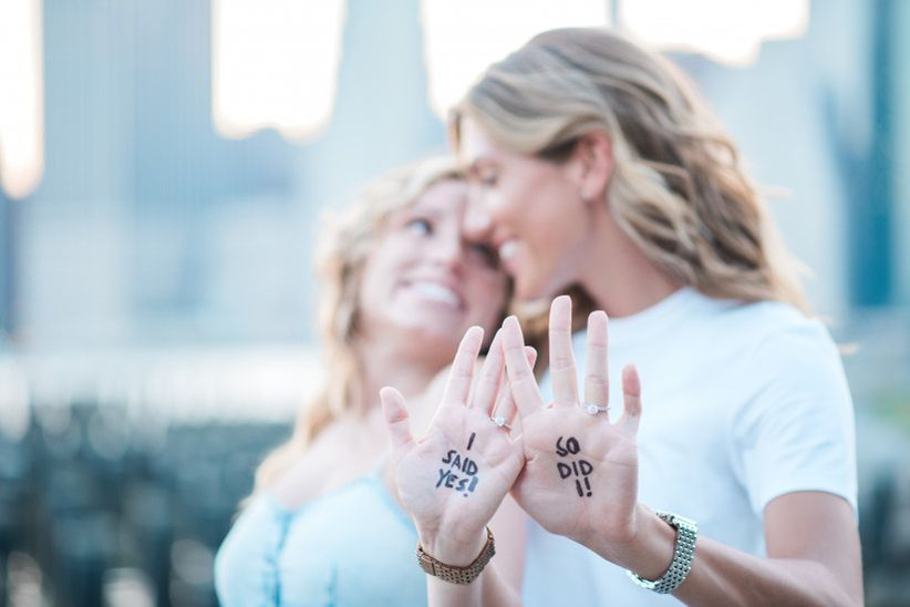 20 Engagement Announcement Ideas to Steal for the Big Reveal