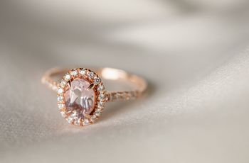 10 Non-Diamond Engagement Rings That Still Have Plenty of Sparkle
