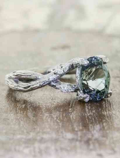 10 Non Traditional Engagement Rings You Haven T Seen Before Weddingwire