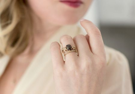 10 Non-Traditional Engagement Rings You Haven't Seen Before