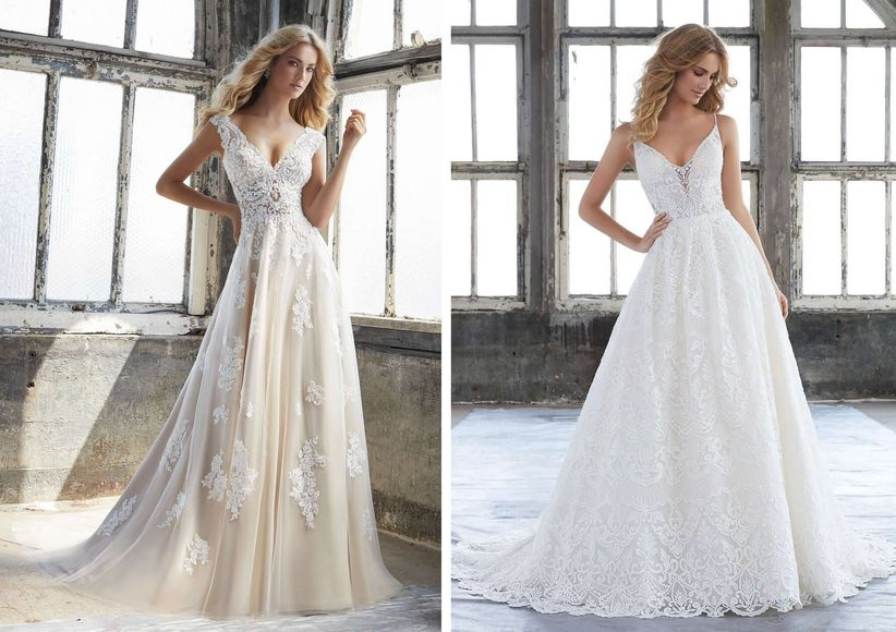 Your Ideal Wedding Dress Based on Your Zodiac Sign - WeddingWire