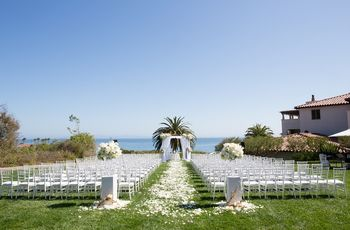 8 Santa Barbara Wedding Venues With an Ocean View