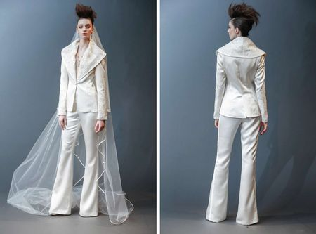 The Bridal Power Suit Is Here: 13 Jumpsuits & Pantsuits That Are Strong AF
