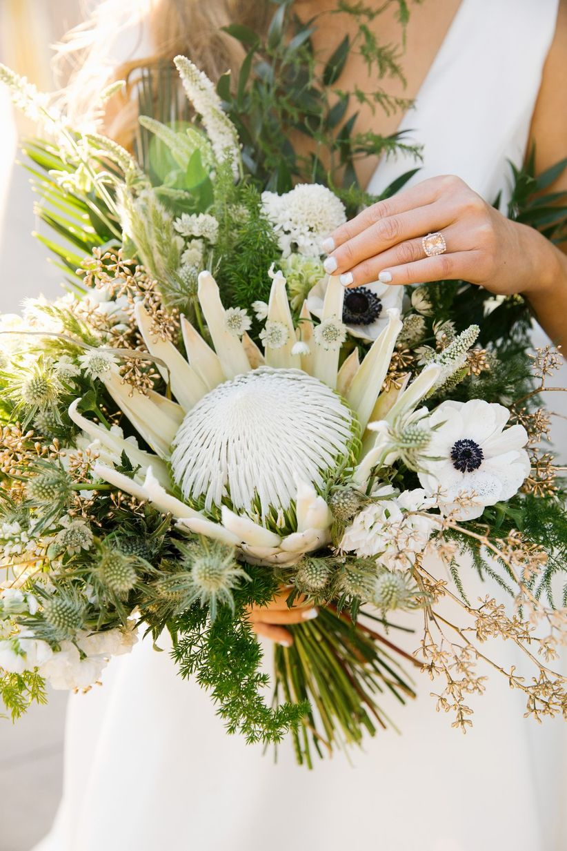 Simple Eucalyptus Bouquet