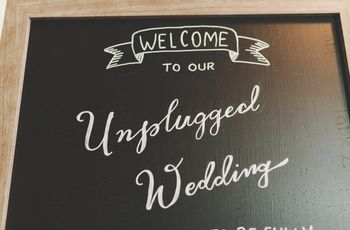 Is an Unplugged Wedding Right for You?