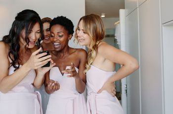 All the Wedding-Related Group Texts You'll Need