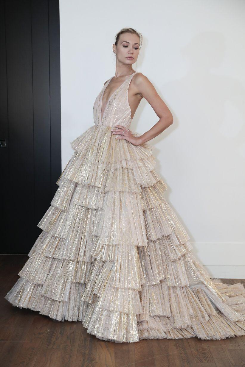 1ab237ae204 15 Ballerina Wedding Dresses That Are So on Pointe - WeddingWire
