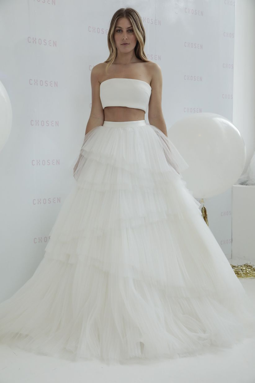 d9a4f75c455 15 Ballerina Wedding Dresses That Are So on Pointe - WeddingWire