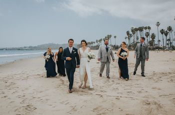 7 Santa Barbara Beach Wedding Venues for SoCal Style