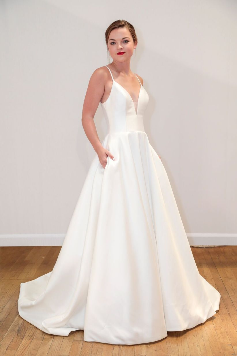 most popular wedding dresses the 8 wedding dress fabrics to before you shop 6036